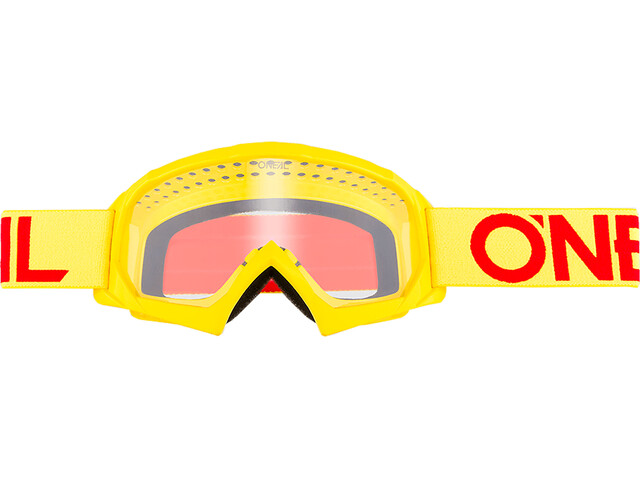 ONeal B-10 Goggles Youth SOLID neon yellow/red